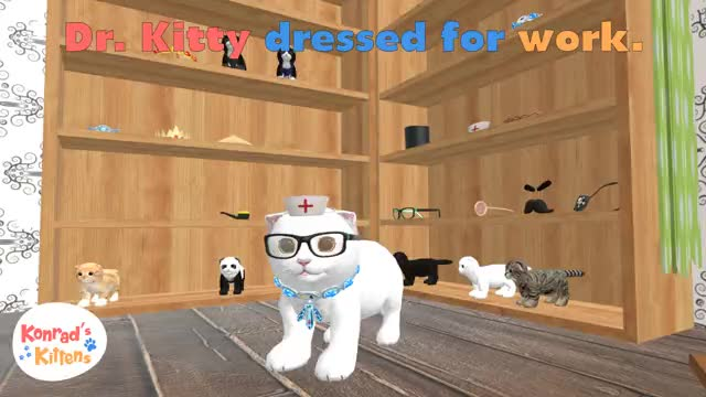 Watch and share Konrad The Kitten GIFs and Virtual Reality GIFs by FusionPlay on Gfycat