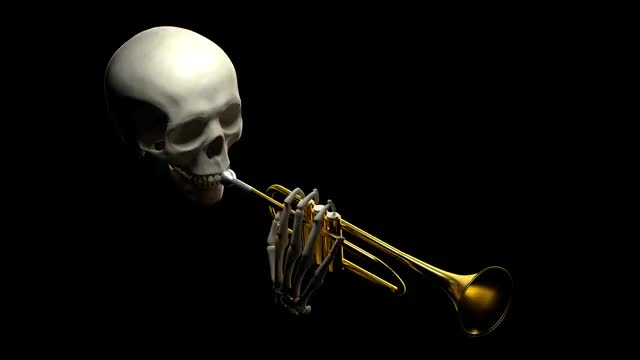 Watch and share Skull Trumpet GIFs and Cool Shirtz GIFs on Gfycat