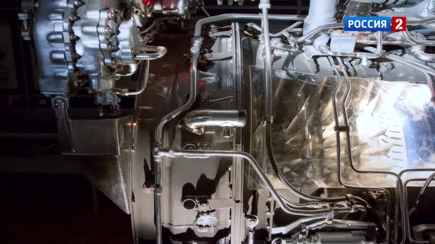 AL-41 jet engine cut GIFs