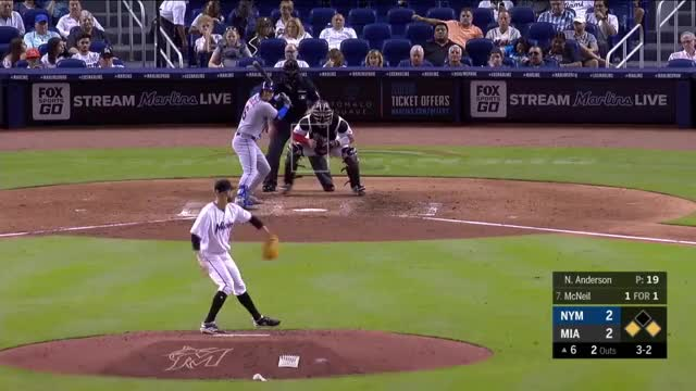 Watch Anderson SL DATABASE GIF on Gfycat. Discover more Miami Marlins, New York Mets, baseball GIFs on Gfycat