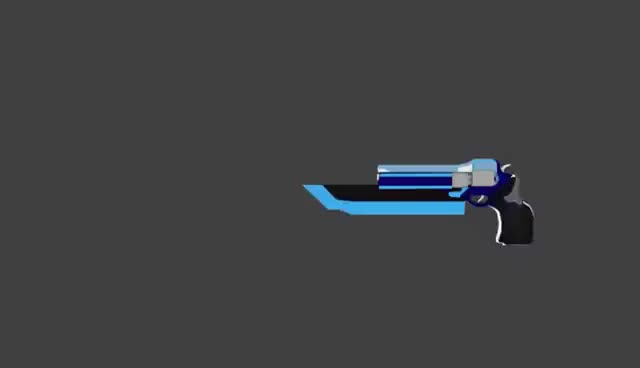 Watch and share Fan Made RWBY Weapon - Destiny's Ward GIFs on Gfycat