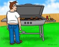 Watch and share Grill On Fire Cartoon GIFs on Gfycat
