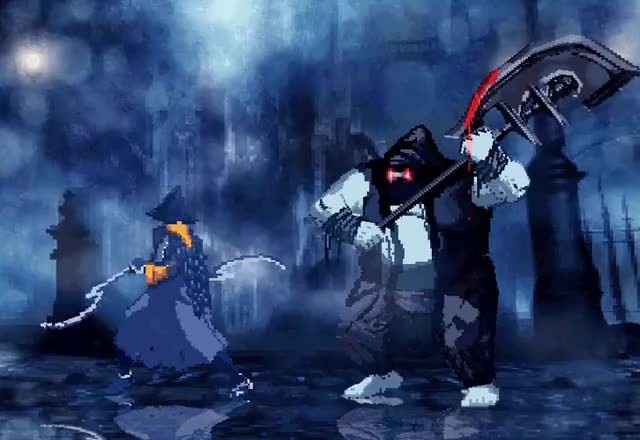 Watch and share Bloodborne Pixelart Retrogaming Animation GIFs by clicheanimehero on Gfycat