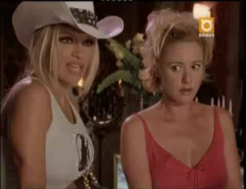 celebs, pamela anderson, vip, V.I.P.  S04 E17 (2002) Don Swayze and Pamela Anderson - 2 GIFs