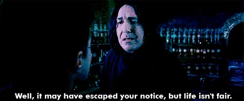 Watch and share Alan Rickman GIFs and Harry Potter GIFs on Gfycat