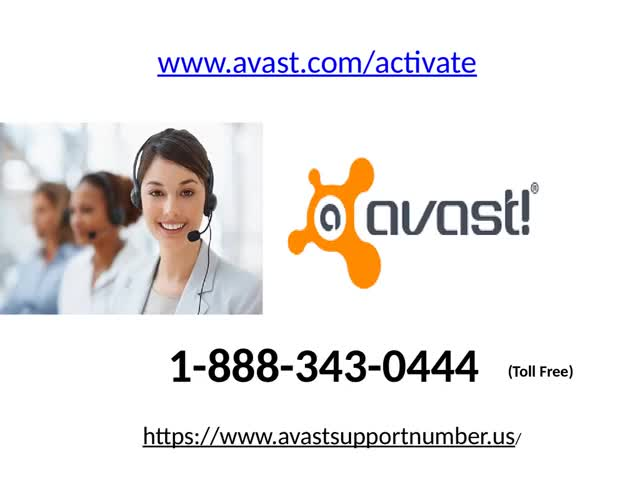 Avast phone Number 1-888-343-0444