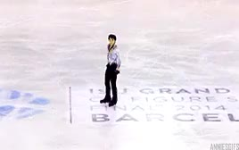 Watch Yuzuru Hanyu + Phantom of the Opera (FS GPF 2014) GIF on Gfycat. Discover more Yuzuru Hanyu, and im late posting this because i had work then the gala then work again ;A;, and yuzu and javi introducing each other omg, but dhjfhdjskfl, congrats on your amazing performances!!!, gpf 2014, his smile after the fall though fdshshkfs so glad youre happy again, it was so beautiful, just some of my favourite moments from his fs, poto, the gala was fantastic, what a wonderful competition this was for you!!!, your friendship is so precious GIFs on Gfycat