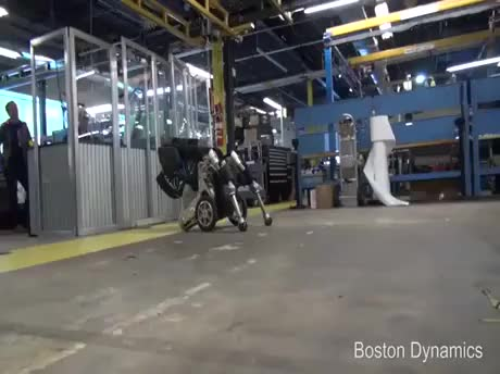 Watch It's happening; Boston Dynamics - Handle GIF on Gfycat. Discover more related GIFs on Gfycat