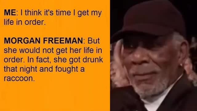 Watch and share Morgan Freeman GIFs and Black Twitter GIFs by Cindy046  on Gfycat