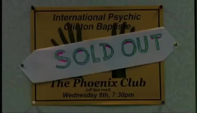 Watch and share Phoenix Nights   Clinton Baptiste The Psychic GIFs on Gfycat
