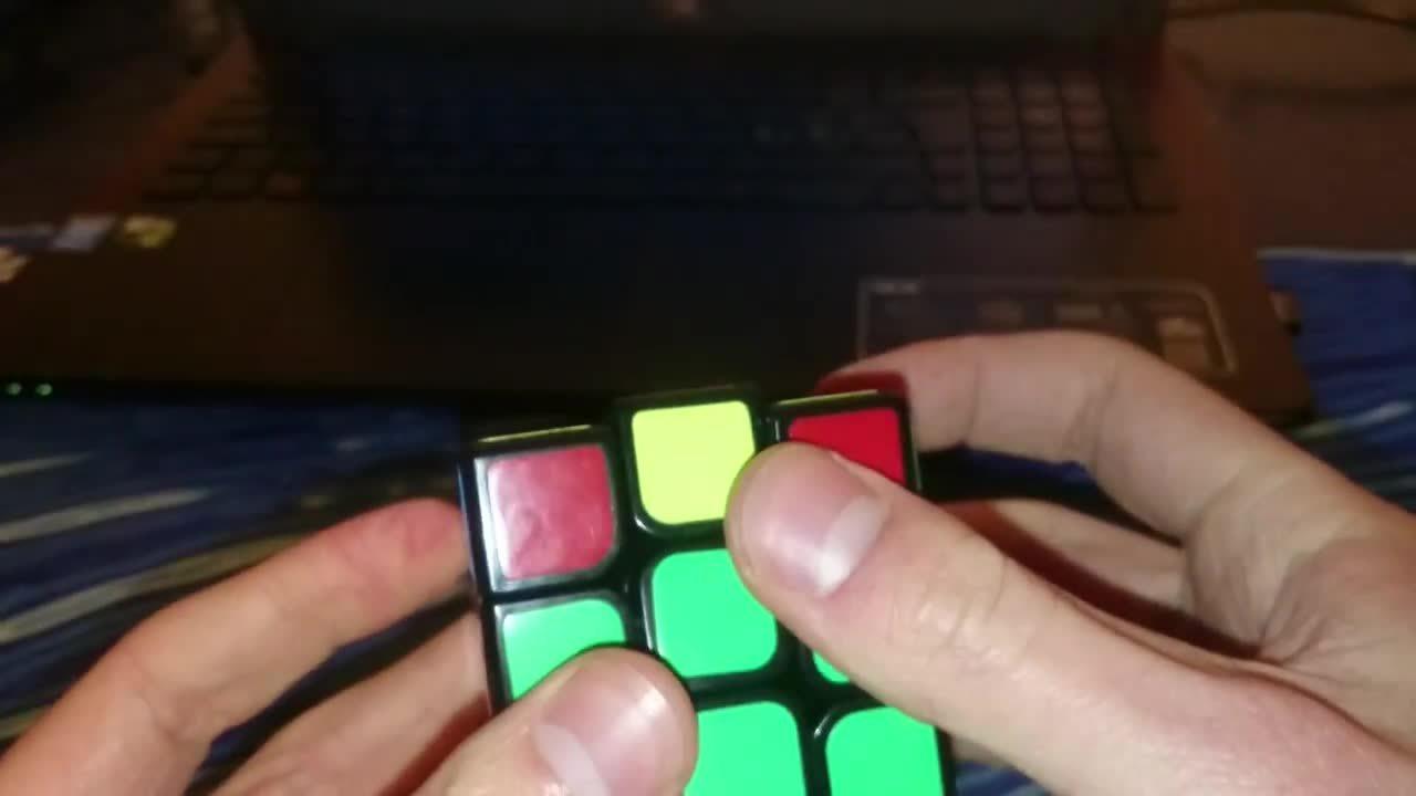 cubers, X OLL GIFs
