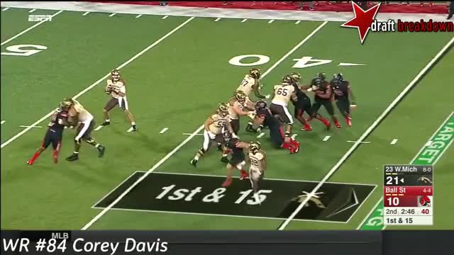 Watch Corey Davis Vs Ball State(2016) GIF by @jonah7073 on Gfycat. Discover more related GIFs on Gfycat