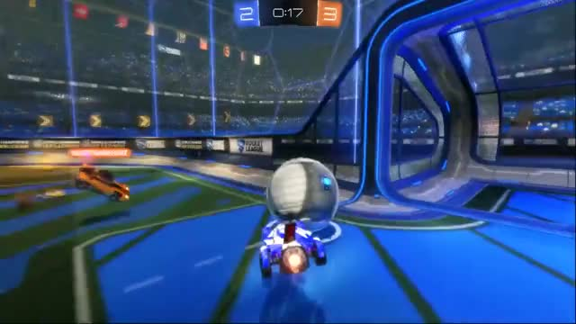 Watch and share Watch YellyVonHollerlots's Rocket League Video: Damn... Yes! YES! - Plays.tv GIFs on Gfycat