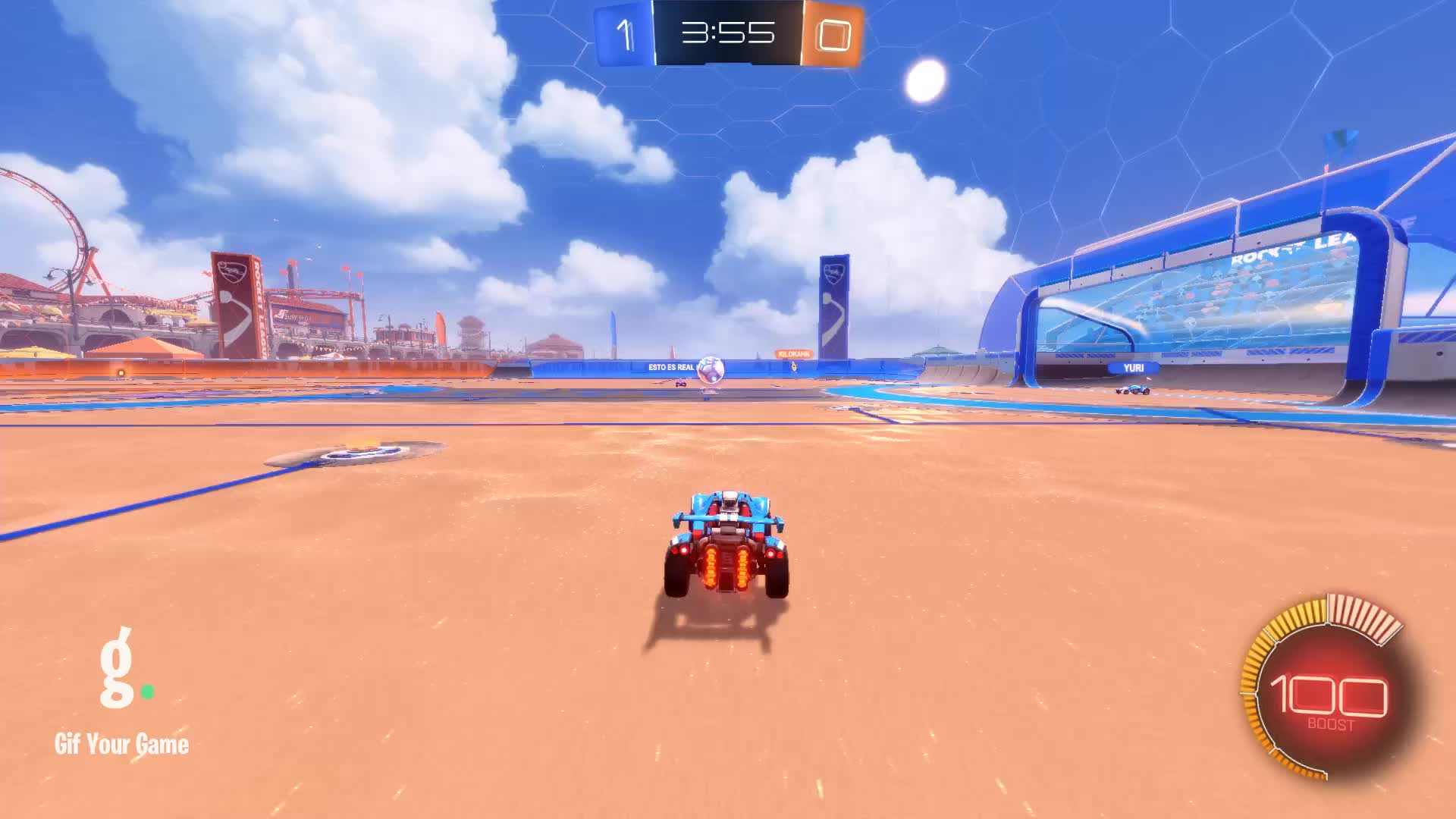 Gif Your Game, GifYourGame, Goal, Rocket League, RocketLeague, itsmfkyleb, Goal 2: itsmfkyleb GIFs