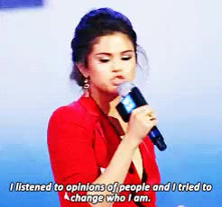 Watch and share Selena Marie Gomez GIFs and We Day GIFs on Gfycat