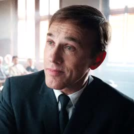 Watch and share Christoph Waltz GIFs and Tim Burton GIFs on Gfycat