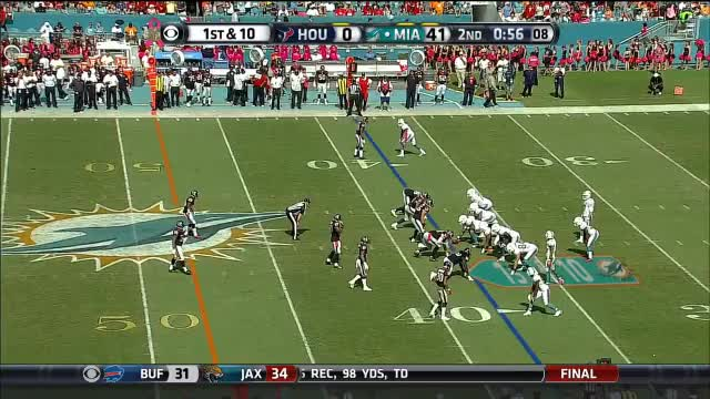 Watch and share Devante Parker Reception V HOU (nullified By Penalty) GIFs by jamesddavies on Gfycat