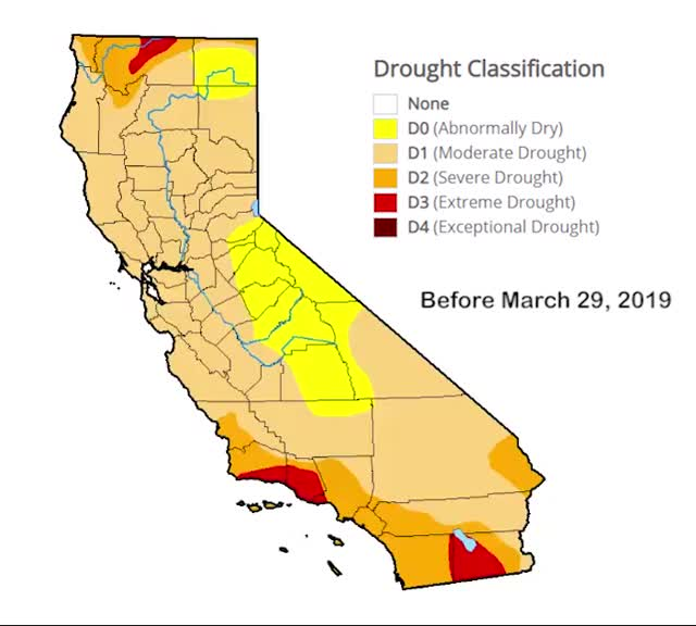 Watch and share U.S. Drought Monitor Animations GIFs on Gfycat