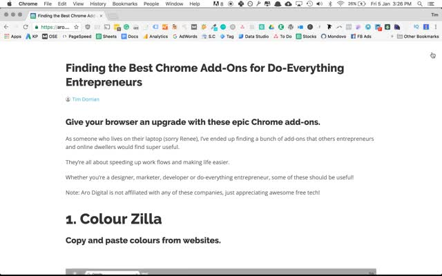 Finding the Best Chrome Add-Ons for Do-Everything