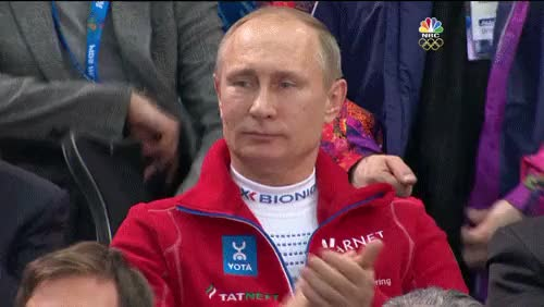 Watch and share Putin Clapping GIFs on Gfycat