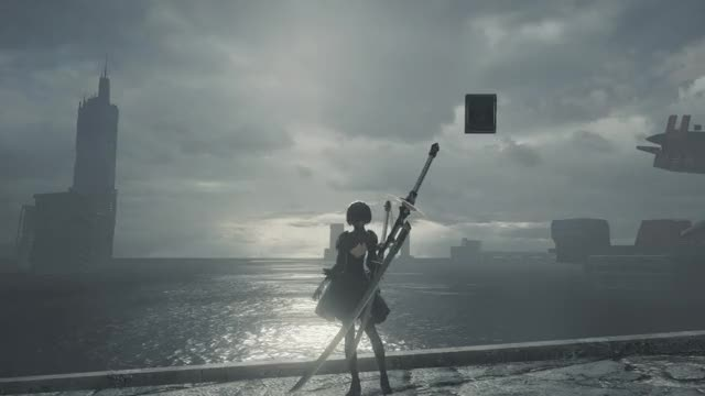 Watch NieR Automata 07.09.2017 - 00.15.01.08 GIF by Thahseen Ali (@thahseenali) on Gfycat. Discover more related GIFs on Gfycat