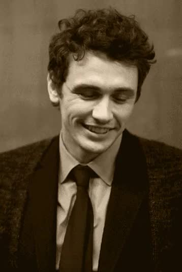 Watch and share Black And White GIFs and James Franco GIFs on Gfycat