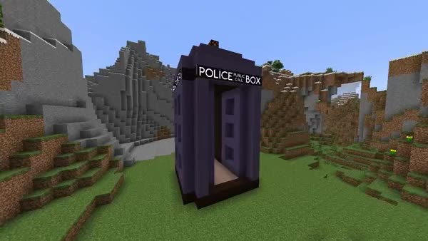 Watch and share Dr. Who's TARDIS In Minecraft - It's Bigger On The Inside! YouTube Walkthrough: Watch?v=3QpqUCaz8fk GIFs on Gfycat