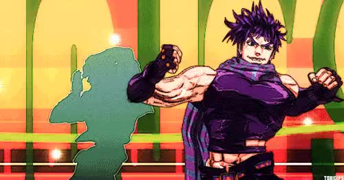 Watch and share Joseph Joestar GIFs on Gfycat