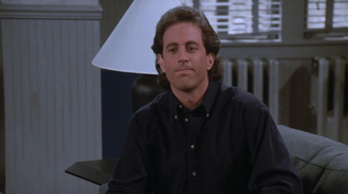 i slipped up, jerry seinfeld, mistake, seinfeld, Seinfeld I Slipped Up GIFs