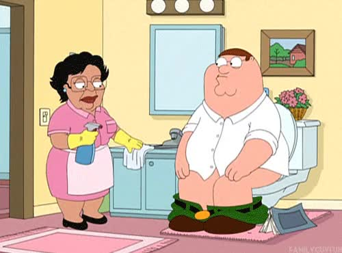 Watch and share Family Guy, Family Guy Maid, Conseula GIFs on Gfycat