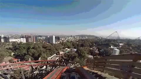 Watch and share Medusa @ Six Flags Mexico POV GIFs on Gfycat