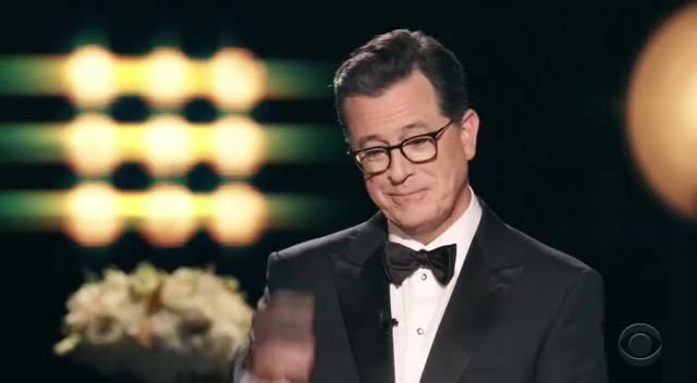 Watch this emmys GIF by GIF Reactions (@visualecho) on Gfycat. Discover more Emmys, Emmys 2017, Emmys2017, Stephen Colbert, ruPaul GIFs on Gfycat