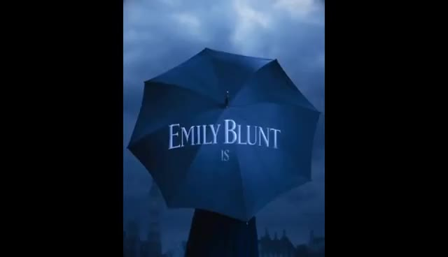 emily blunt, MARY POPPINS RETURNS First Look Teaser Footage (2018) Emily Blunt Disney Movie HD GIFs