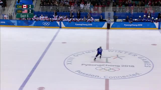 Watch and share USA Defeats Canada To Win The Gold Medal In Women's Hockey GIFs on Gfycat