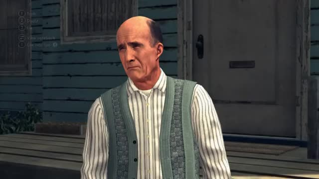Watch and share L.A. Noire Requires You To Read Subtle Facial Cues To Tell If Someone Is Lying GIFs on Gfycat