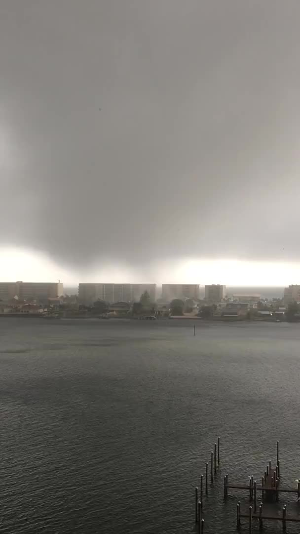 Watch and share Waterspout Wreaks Havoc In Florida ViralHog (1) GIFs on Gfycat