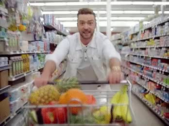 Watch and share Justin Timberlake GIFs and Shopping GIFs on Gfycat