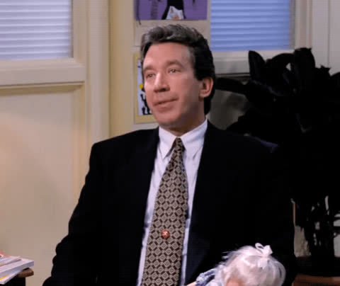 cross eyed, duh, dumb, silly face, the santa clause, tim allen, Tim Allen - The Santa Clause GIFs