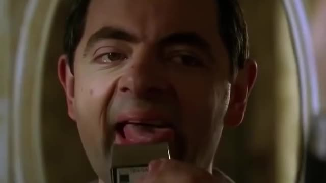 Watch this movies GIF by GIF Queen (@ioanna) on Gfycat. Discover more bean, dumb, funny, hilarious, movies, mr, mr bean, rowan atkinson, shaving, silly, stupid, ugly GIFs on Gfycat