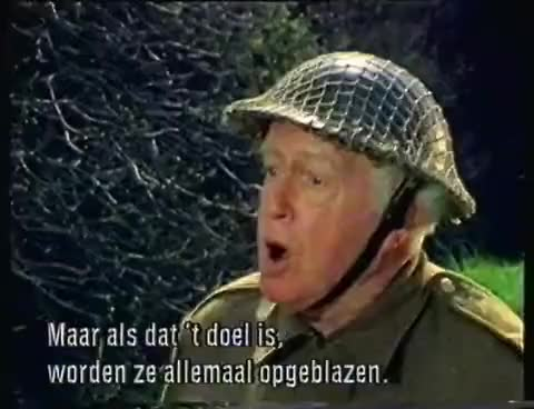 Watch and share Dad's Army   The Desperate Drive Of Corporel Jones ( Subtitles NL) GIFs on Gfycat