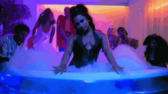 Watch this sex GIF by The GIF Smith (@sannahparker) on Gfycat. Discover more bubble, demi lovato, hot tub, sex, sexy, sorry not sorry GIFs on Gfycat