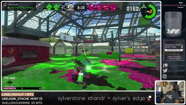Watch this splatoon GIF by Sylverstone Khandr (@sylverstone14) on Gfycat. Discover more nintendo switch, splatoon, splatoon 2, sylverstone14, twitch GIFs on Gfycat