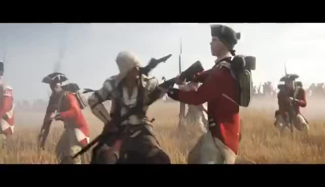 Watch and share Assasin'screed Iii GIFs on Gfycat