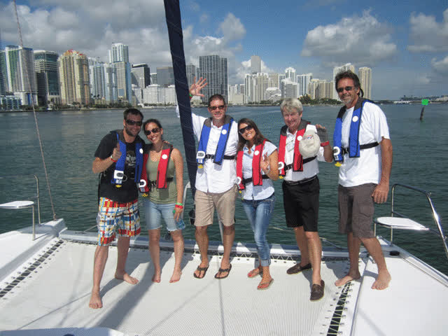 Private Sailing Classes, catamaran training Florida GIFs