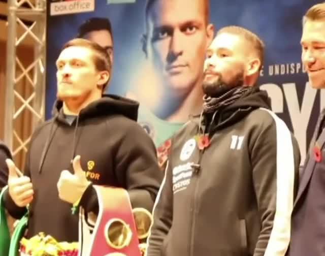 Watch usyk bellew face off GIF on Gfycat. Discover more bellew, usyk GIFs on Gfycat