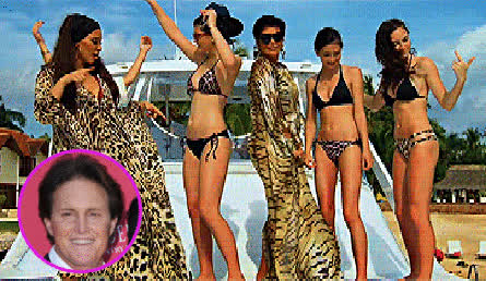 jenner kardashian family bruce floating head gif GIFs