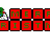 Watch and share Merry Christmas Blocks 1 animated stickers on Gfycat