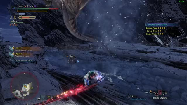 Watch and share Iceborne GIFs and Mhw GIFs by Tick San on Gfycat