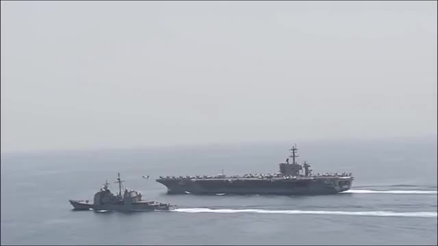 Watch Breaking News - Five Destroyers And Cruisers Head To Middle East GIF on Gfycat. Discover more breaking news, cruiser, middle east, news, u.s., worlddoc1 GIFs on Gfycat