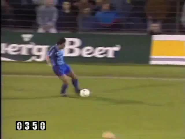 Watch and share 1990-91 100 Hughes (Cup Winners Cup Final) GIFs by mu_goals on Gfycat